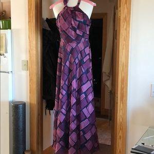 Theia long dress. worn once. MOB dress